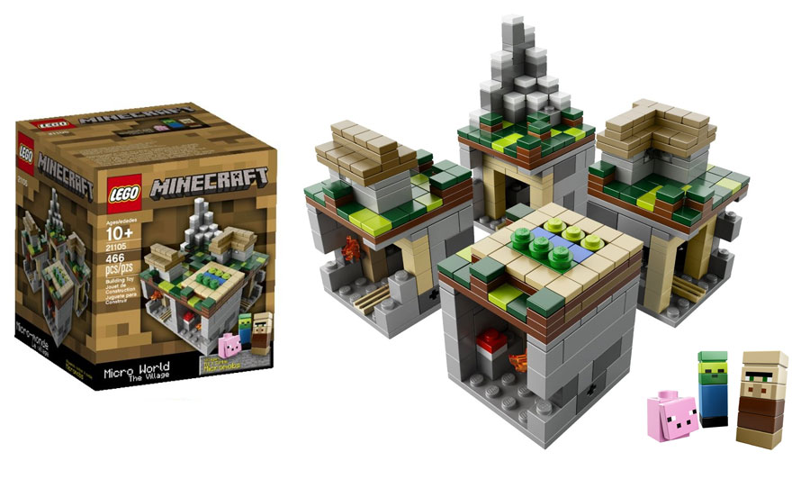 Lego Minecraft Sets Micro World Review