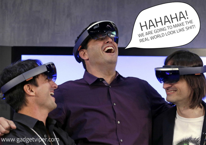 The Microsoft HoloLens - Set to dominate the future?