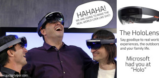 The Microsoft HoloLens and it's evil plan to take over the world