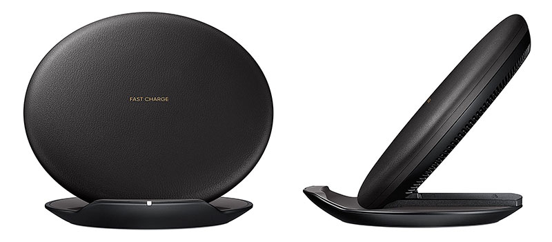 The Samsung Fast Charge Qi Wireless charging pad