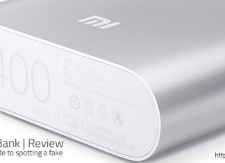 10400mAh Xiaomi Power Bank review and a helpful guide to help you indentifiy a genuine Mi charger from a fake.