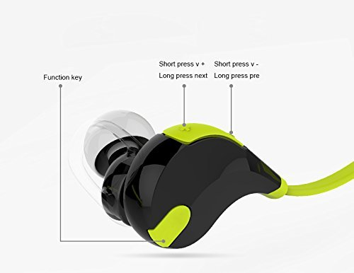 Soundpeats Soundbeats QCY QY7 bluetooth earphones functions and features