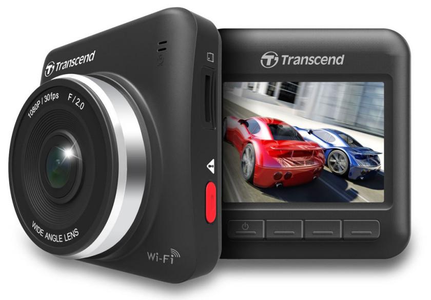 The Transcend DrivePro 200 Dash Cam