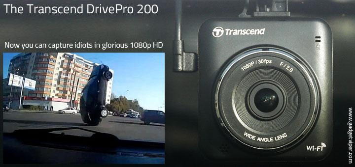 Transcend Drivepro 200 Review Dash Cam Dashboard Camera