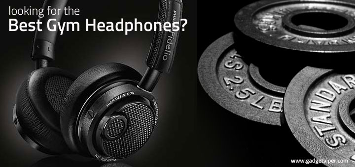 Philips Fidelio M2bt The Best Wireless Gym Headphones