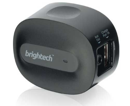 The Brightech BrightPlay bluetooth audio receiver with aptX for CD quality sound