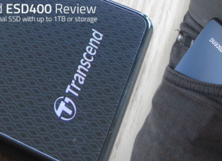 A hands on review of the Transcend ESD400 solid state external hard drive