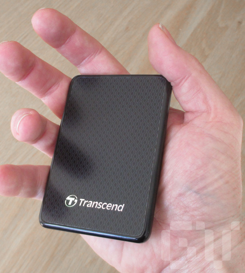 Transcend ESD400 external SSD is tiny and as light as a feather