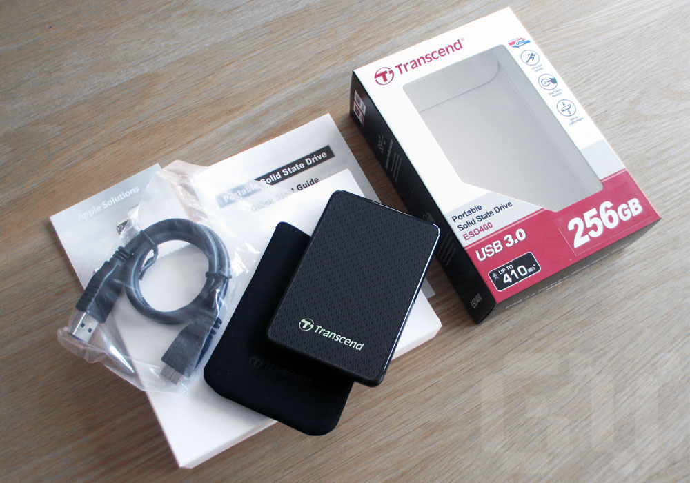 Transcend ESD400 Solid State External Hard Drive Review