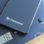 The Transcend ESD400 weighs only 1.8oz.