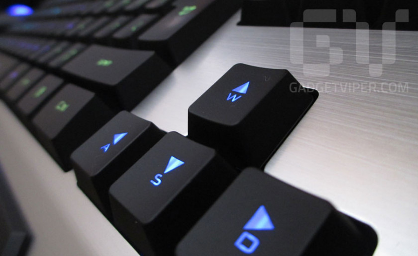 The Havit backlit keyboard for gaming