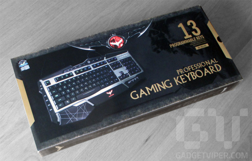 Havit Gaming Keyboard with programmable keys