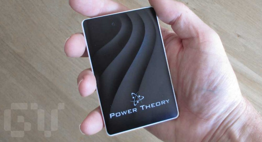A power bank that's small enough to fit into a wallet