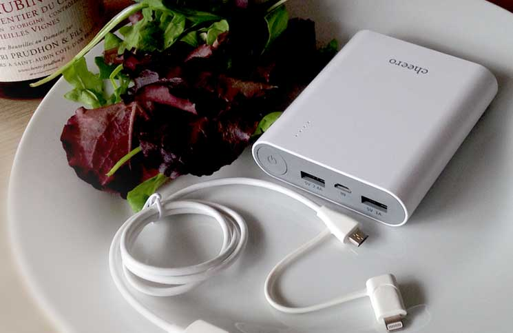 The Cheero Power Plus 3 - Not to be confused with a Kobe beef steak!