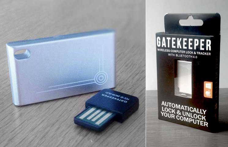 Gatekeeper Chain Bluetooth Proximity Lock And Key Finder