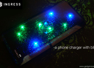 A review of the Cheero Ingress Power Cube, a high capacity portable phone charger with bling!