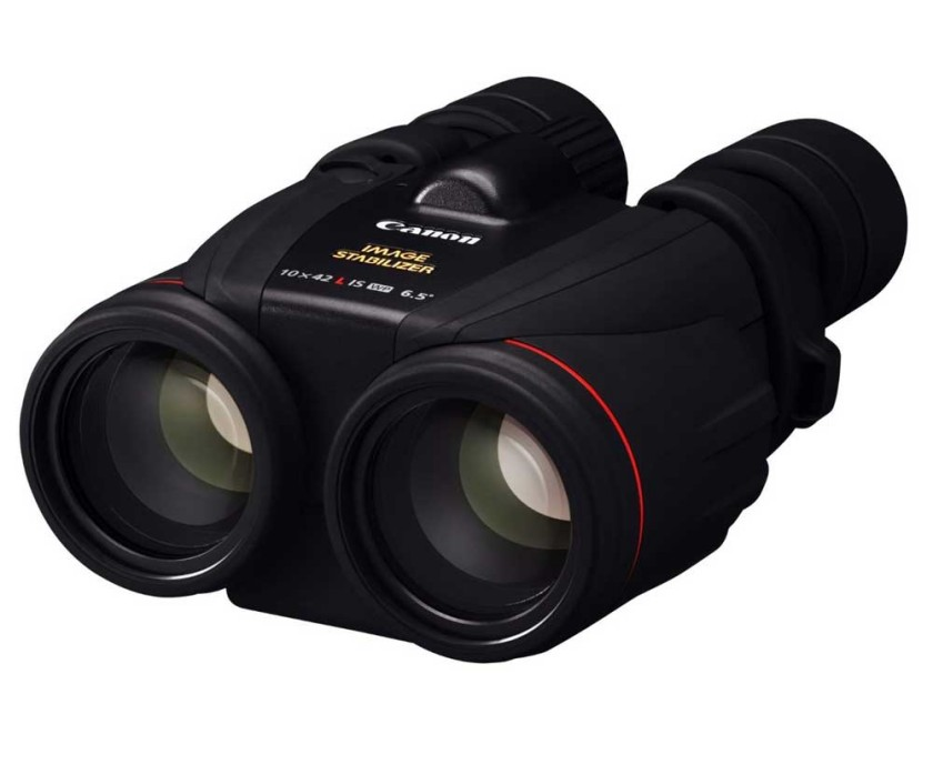 The 10x42 Canon image stabilized binoculars