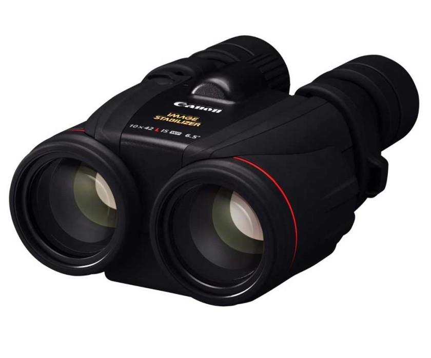 The 10x42 Canon image stabilized binoculars