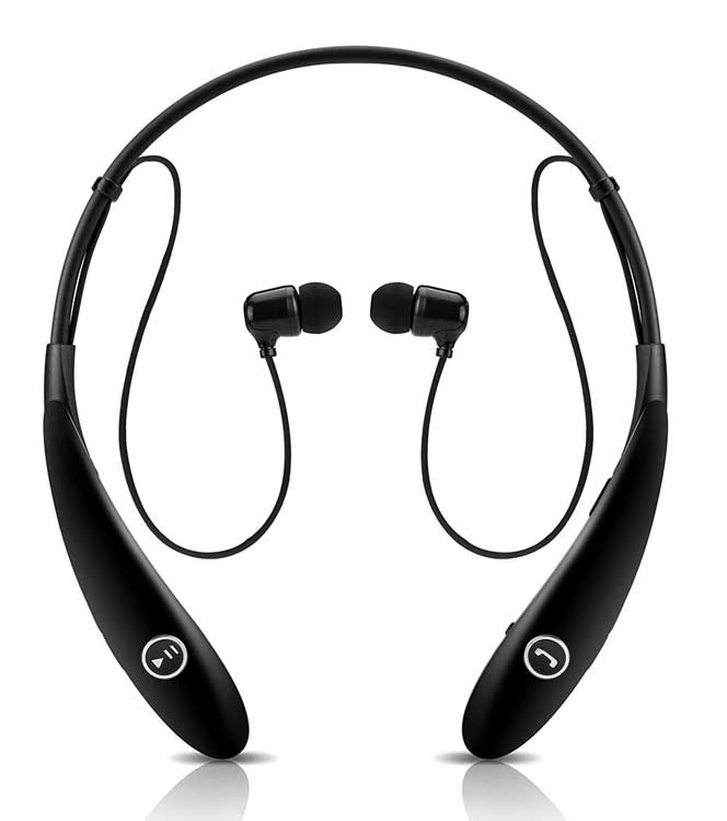 best bluetooth neckband headphones review 2015. Black Bedroom Furniture Sets. Home Design Ideas