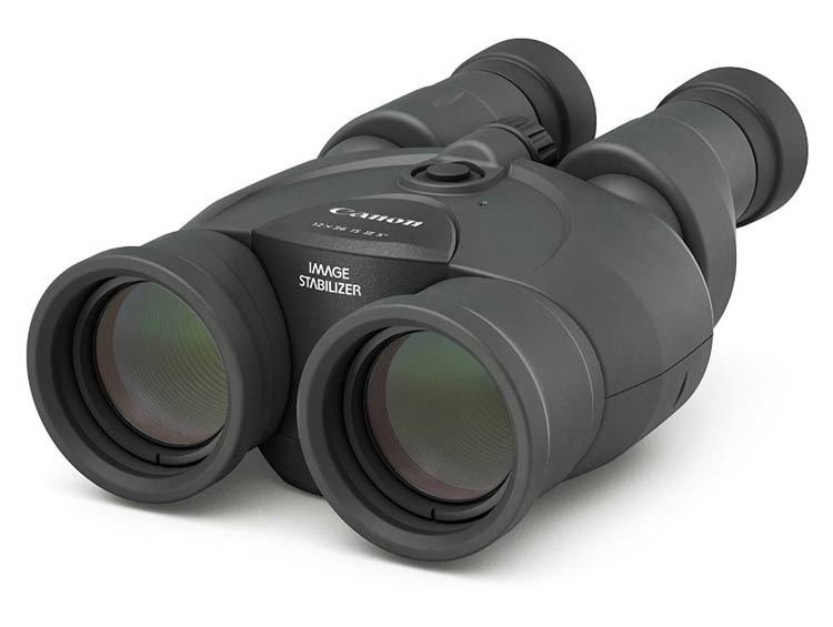 The 12x36 IS III Canon image stabilized binoculars