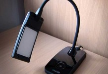 A review of the eye care T120 dimmable LED Desk Lamp from OxyLED