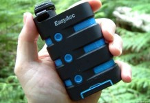 A review of the EasyAcc Waterproof Power Bank - An awesome hiking gadget