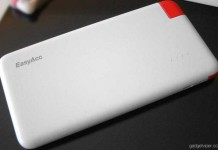 A detailed review of the 4000 mAh capacity portable phone charger by EasyAcc