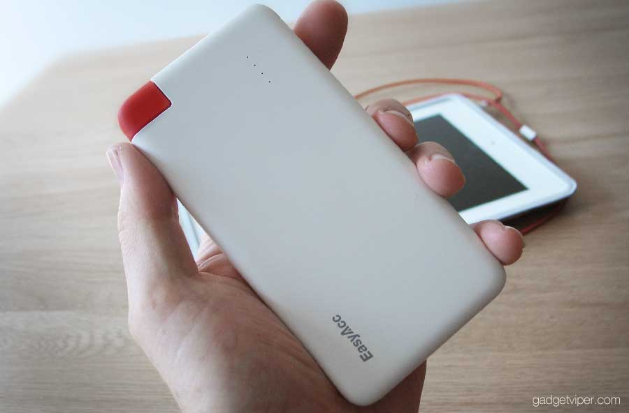 How I got on using the 4000 mAh PowerBank by EasyAcc