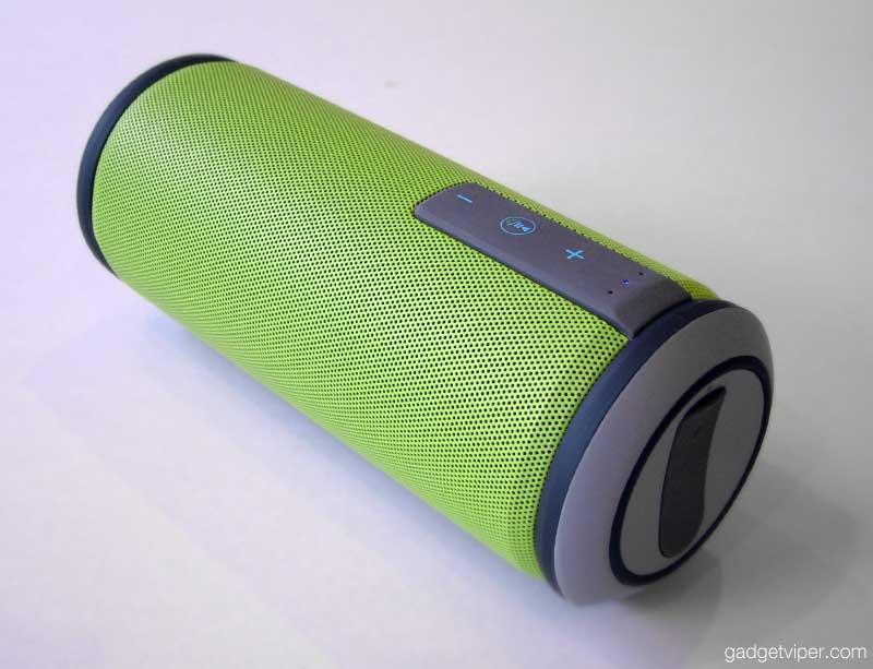 The Trendwoo Music Tube waterproof bluetooth speaker