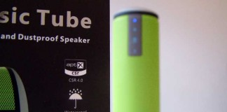 A review of the Trendwoo bluetooth speaker - The Music Tube designed for the outdoors