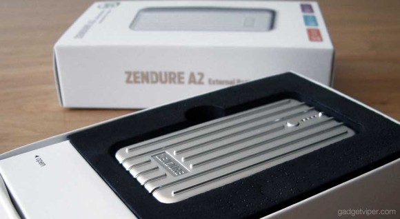 The 2nd gen Zendure A2 power bank comes in an impressive display box.