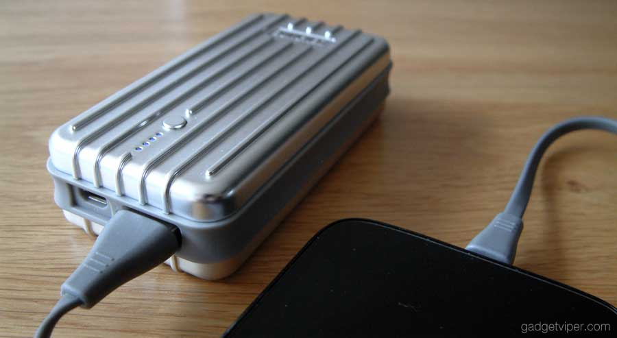 Using the Zendure A2 power bank I was able to fully charge my smartphone 2 times.
