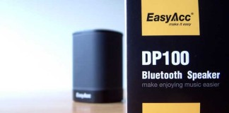 A hands on review of the DP100 EasyAcc portable bluetooth speaker