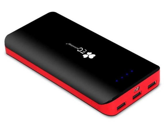 The EC 22400mAh portable phone charger - 3rd on the best power bank 20000mAh and over list