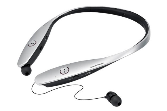 best neckband headphones - The LG TOne HBS 900 bluetooth neckband headphones