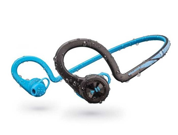 The Plantronics BackBeat Fit waterproof bluetooth neckband sports headphones