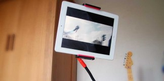 A review of the flexible gooseneck tablet holder by EasyAcc