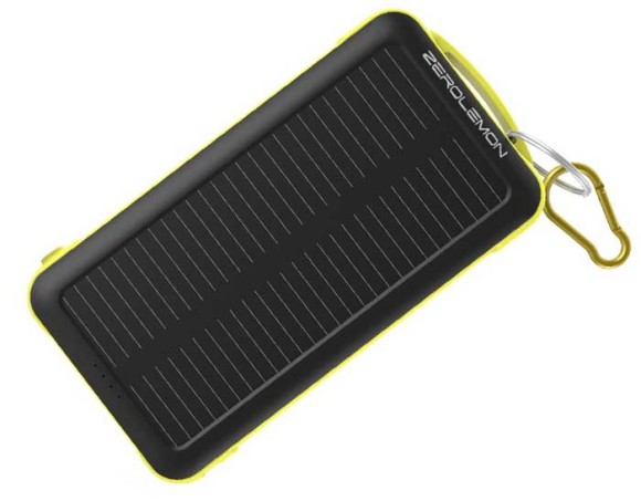 The Zerolemon is a high capacity 20000mAh Power bank designed for the outdoors