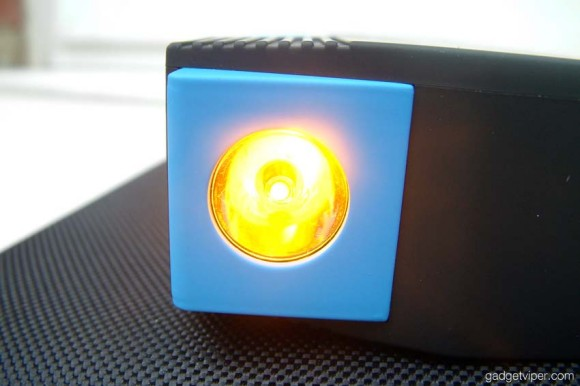 The hazard light setting on the AnyPro car jump starter