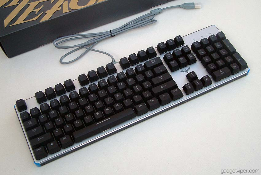 Havit Backlit Mechanical Gaming Keyboard review
