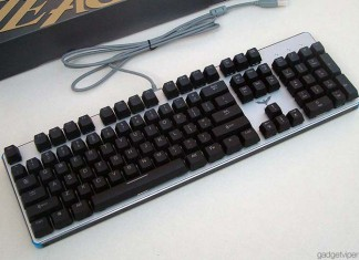A full hands on review of the HV-KB366L Havit backlit mechanical gaming keyboard