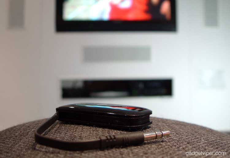 Testing the iClever bluetooth audio transmitter with a TV