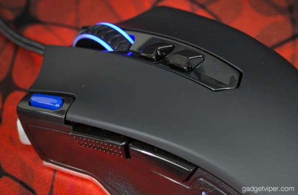 HAVIT mouse - view of the additional buttons