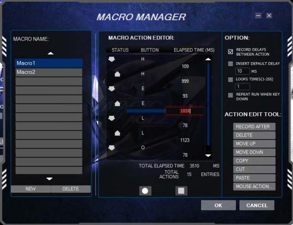HAVIT mouse macro programming software