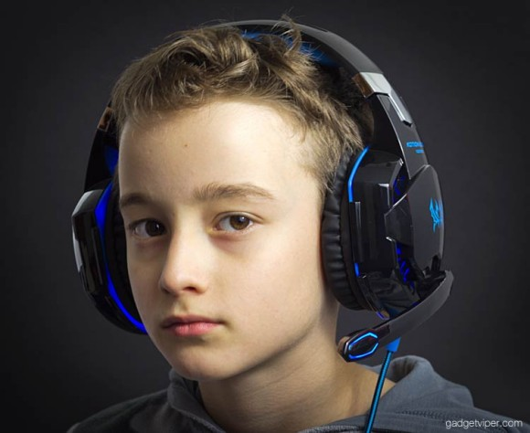 Kotion Each G2000 headset on my 10 year old boy