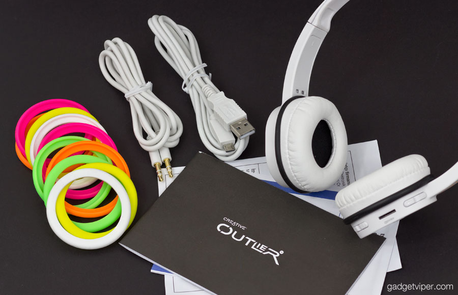 1fc1463d6d6 Creative Outlier bluetooth headphones with MicroSD and USB
