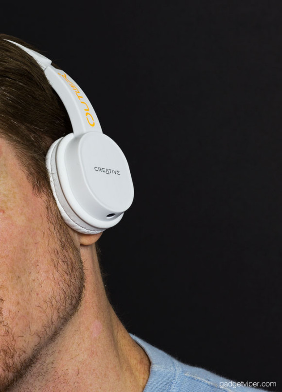 The Outlier creative bluetooth headphones worn over the ear have proved to be comfortable and well fitting