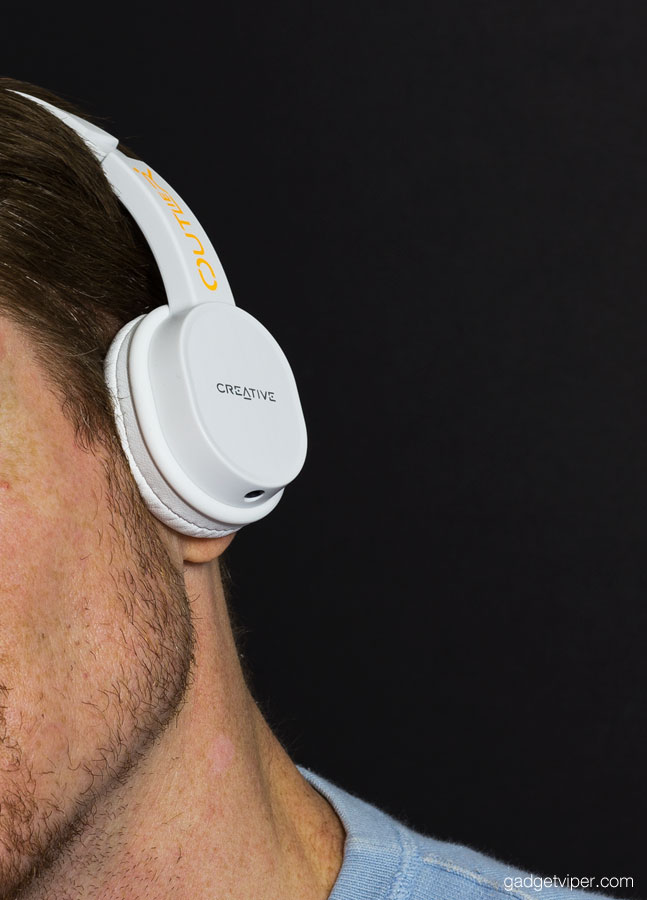 a4ee09e6b9b The Outlier creative bluetooth headphones worn over the ear have proved to  be comfortable and well