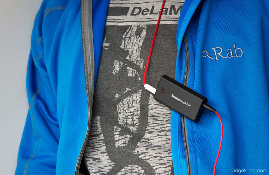 Creative E1 ultra portable headphone amp with USB DAC