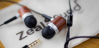 The HDE-300 Wooden earphones by Zealsound